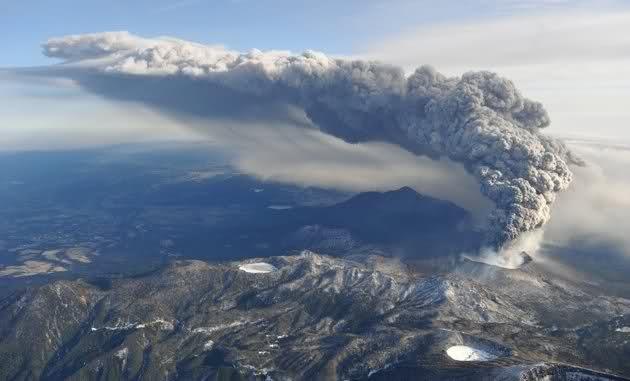 Филлипины ождают мощного извержения вулкана Булусан
