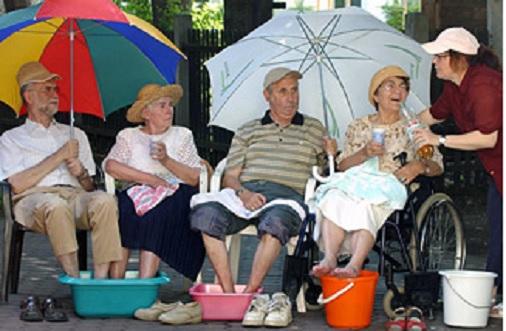 Период аномальной жары во Франции и других частях Европы