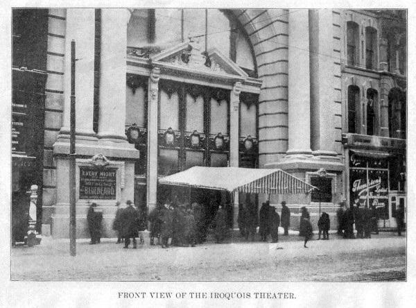 """Пожар в Чикагском театре """"Ирокез"""". 1903 год"""