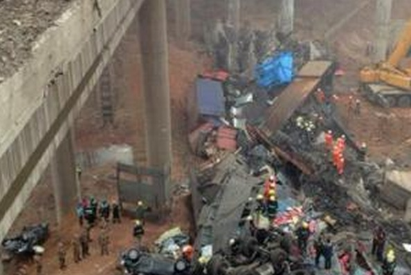Девять человек погибли в ДТП с автобусом в Китае
