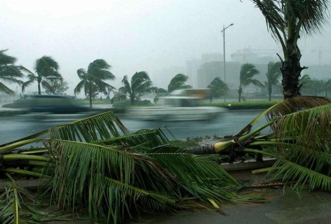 Тайфун Куджира дошел до Китая