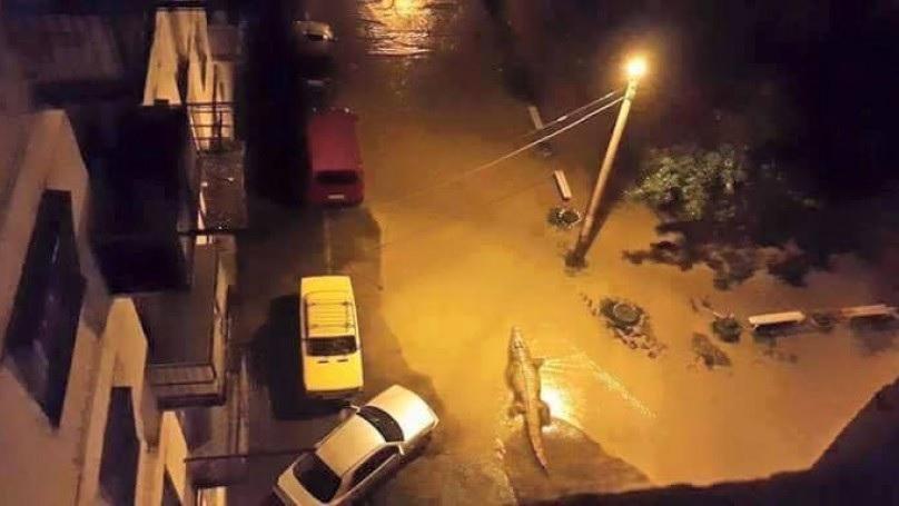 Наводнение в Тбилиси2