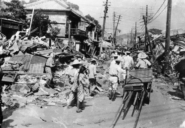 Землетрясение в Китае. 1920 год