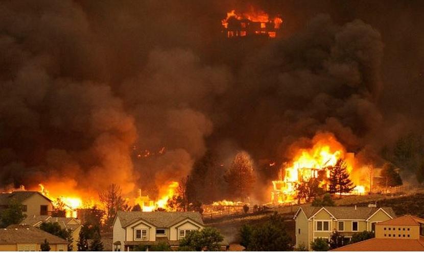 1000 сгоревших домов в калифорнии