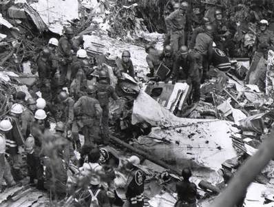 Крушения самолета в Японии: рекорд по количеству жертв
