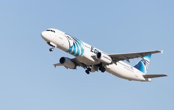 крушение египетского самолета