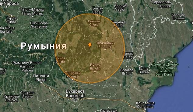 Землятресение в Румынии 24.09