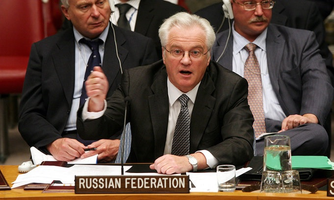 Умер Чуркин В.И., представитель России в ООН