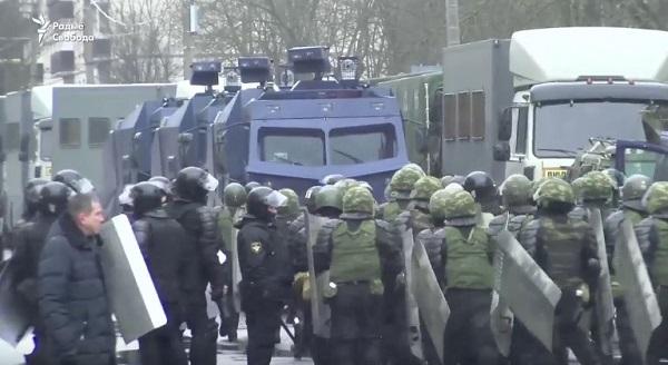 Почти Майдан в Беларусии (День воли) 2017