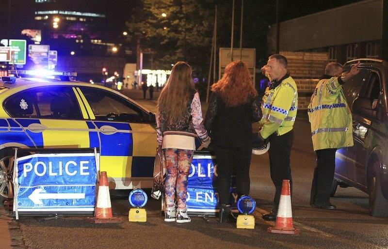 Взрыв на стадионе Манчестера