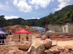 Оползень в Малайзии (Джорджтаун)