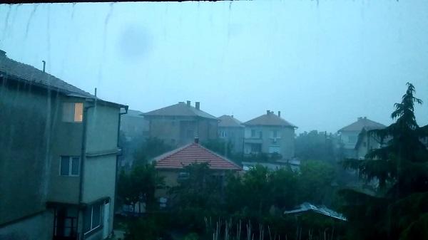 ливень в болгарии