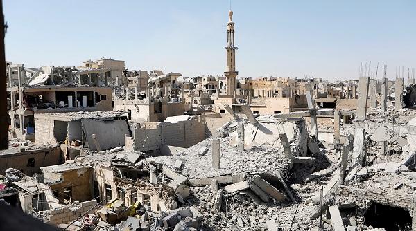 руины города Ракка