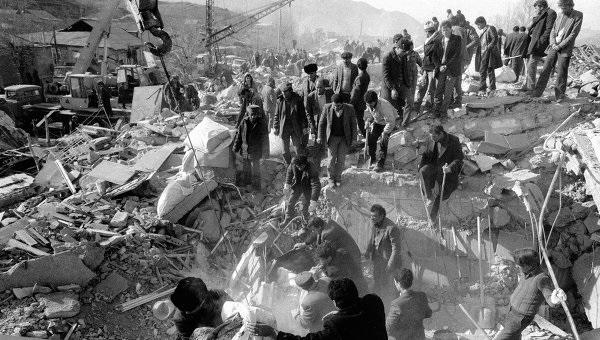 Землетрясение в Армении 7 декабря 1988 года