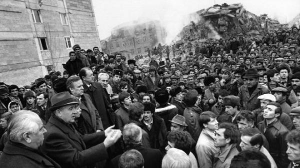 катастрофа в армении