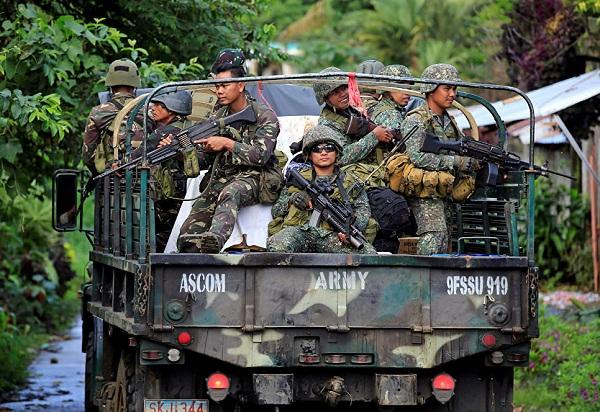 На юге Филиппин прекратились боевые действия между вооруженными силами страны и боевиками ИГИЛ