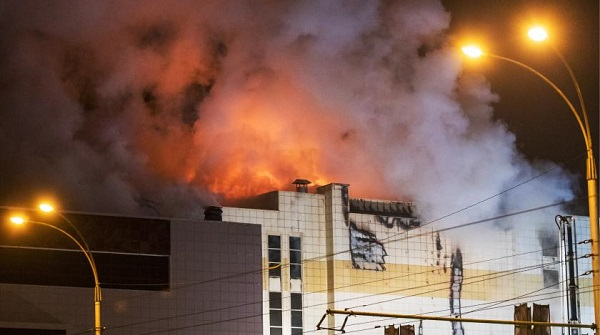 Пожар в ТРЦ «Зимняя вишня» города Кемерово — версии, фото. Видео возгорания
