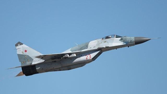 Авиакатастрофа МиГ-29 под Москвой. Видео аварии.