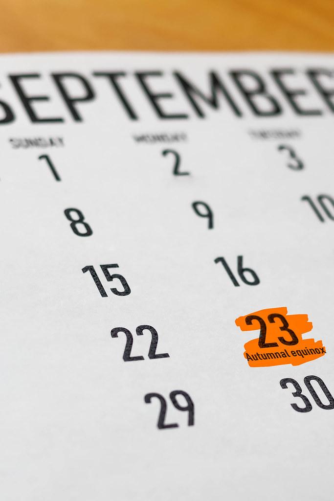 Сегодня, 23 сентября, День Осеннего Равноденствия