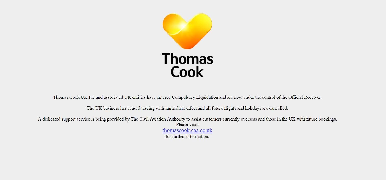 Более 600 тыс. туристов ожидают возвращения после банкротства Thomas Cook