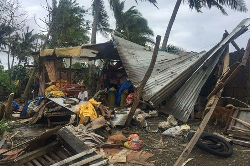 Тайфун Тисой (Tisoy) На Филиппинах
