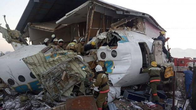 авиакатастрофа к Казахстане 27 декабря 2019