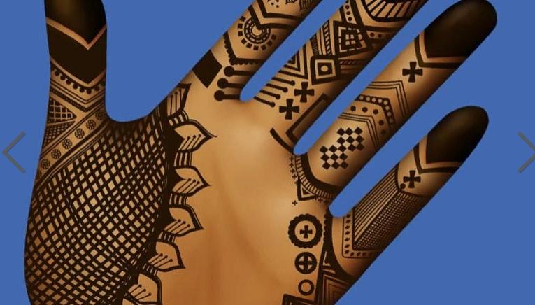 Хенне - местные рисунки, сделанные на руках (ногах) женщин во время свадебных церемоний