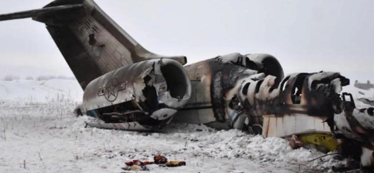 Крушение самолета в Афганистане