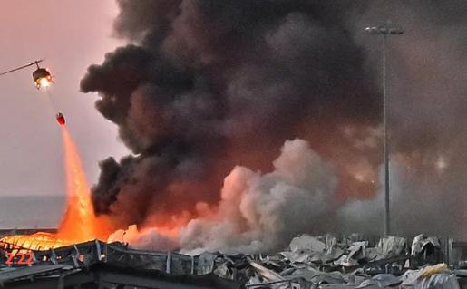 Взрыв в Бейруте. Ливан 2020