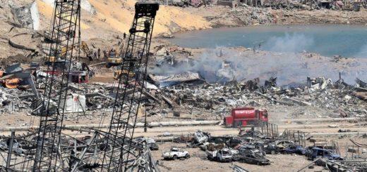Взрыв в Бейруте. Ливан