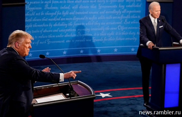 Трамп коронавирус дебаты