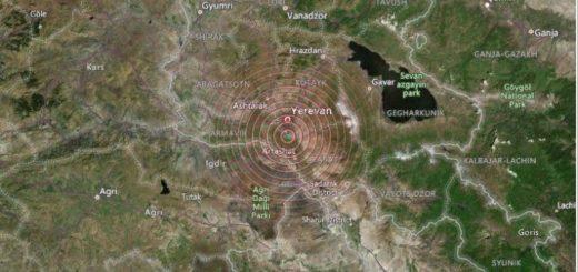 землетрясение в Армении 2021