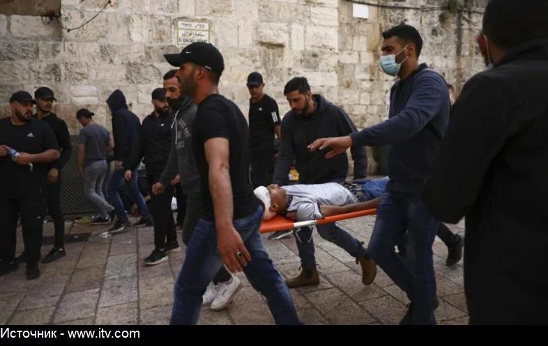 Аль-Акса: ракетный обстрел и пожар в Иерусалиме